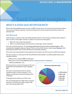 What is a Good SaaS Retention Rate