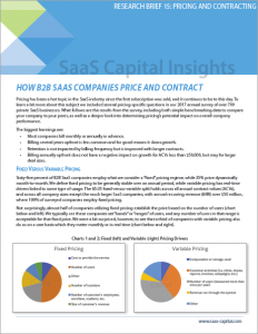 How B2B SaaS Companies Price and Contract